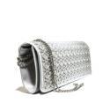 Ikaros gem clutch bag woman A0612SILV Silver