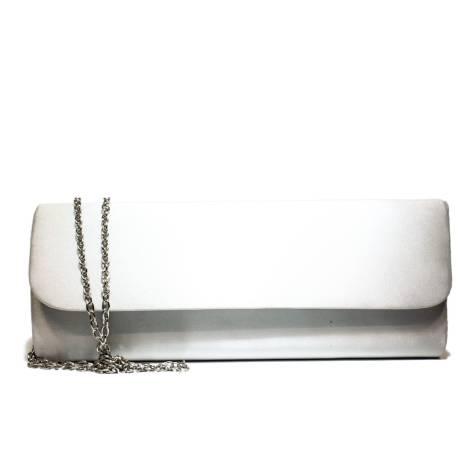 Ikaros gem clutch bag woman 9503 Silver