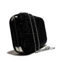 Ikaros gem clutch bag woman A5331NERO Black