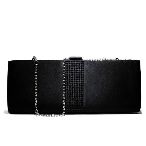 Ikaros gem clutch bag woman 7096 NERO Nero