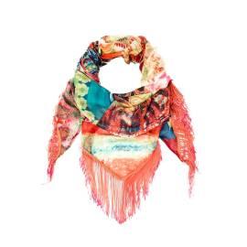 Desigual foulard donna 61W54H6 4098 Foulard Boho Amazona