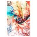 Desigual foulard donna 61W54A8 4014 Sunrise Rectangle