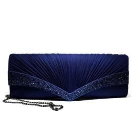 Ikaros borsa gioiello donna pochette A1050BLU Blu