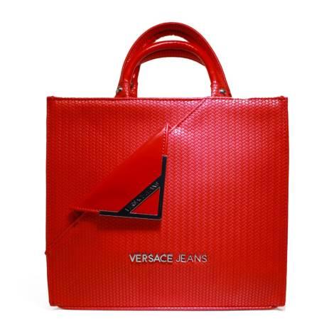 Versace Jeans Woman Stock Exchange Media Art. E1VNBBB5 75278 500 Red