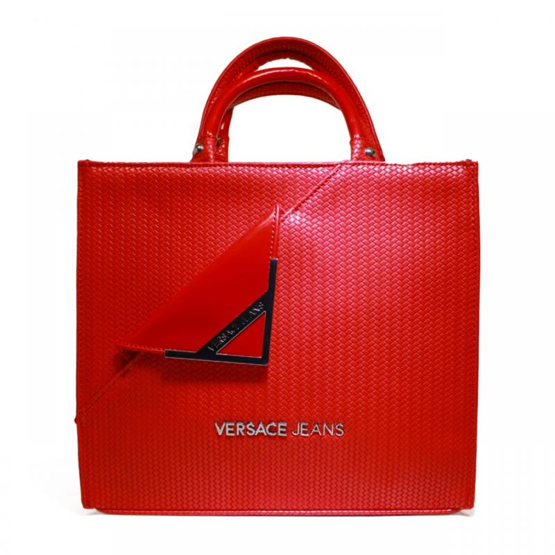 75278 Jeans Versace E1vnbbb5 Borsa 500 Donna Media Rosso Art qvxqYpw