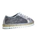 Viguera Sneakers Donna Con Zeppa Bassa 1298212231101 Basket Lumia+Baby Plata