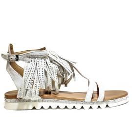 La Femme Plus Sandalo Donna Tacco Basso Art. SF02-2 Beige