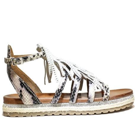 La Femme Plus Sandalo Donna Tacco Basso Art. SF04-1 Beige