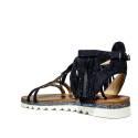 La Femme Plus Sandalo Donna Tacco Basso Art. SF02-2 Nero