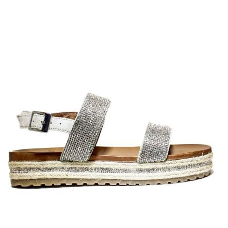 La Femme Plus Sandals Women High Low Art. SF03-1 Natural-Beige