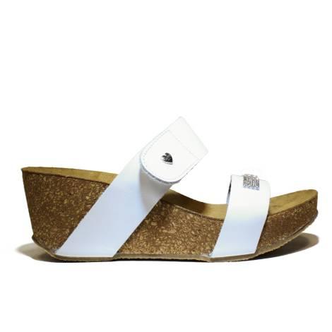 Onyx Women's Sandals Wedge Media Art. AG 690 Wedge Bio Vacc. White