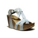 Onyx Women's Sandals Wedge Heel Art. AG 337 Band In. Ice Crust