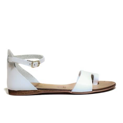 Scarpine Italiane Sandals Low Woman Infra B z.10 White