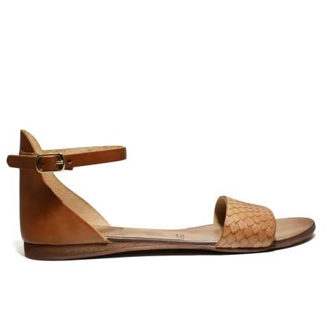 Scarpine Italiane Sandals Low Woman Fascetta z.10 Leather Pit