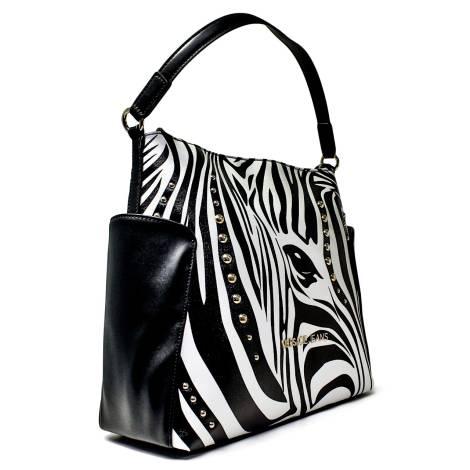 Versace Jeans Woman Stock Exchange Medium Art. E1VNBBU3 75304 M60 White  Black 8445035250f7a