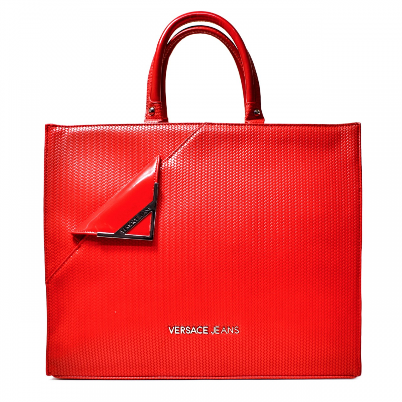 Versace Jeans Woman Stock Exchange Large Art. E1VNBBB1 75278 500 Red 3626f7b1bffed