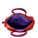 Versace Jeans Woman Stock Exchange Medium Art. E1VNBBK1 75294 MFE Red Violet