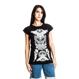 Maglietta donna Sandro Ferrone M14 BLACK PE16 NERO