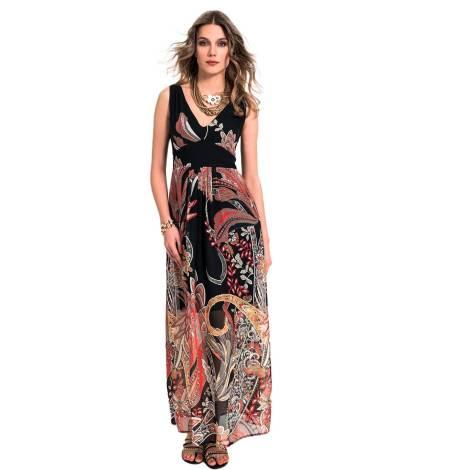 EDAS Gnocco long black dress