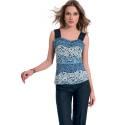 EDAS Terranova lace skirt blu