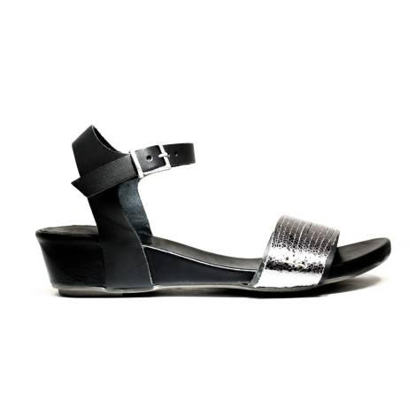Bueno Shoes Sandals Women's Low Heel SENSE A527 OLDGUN