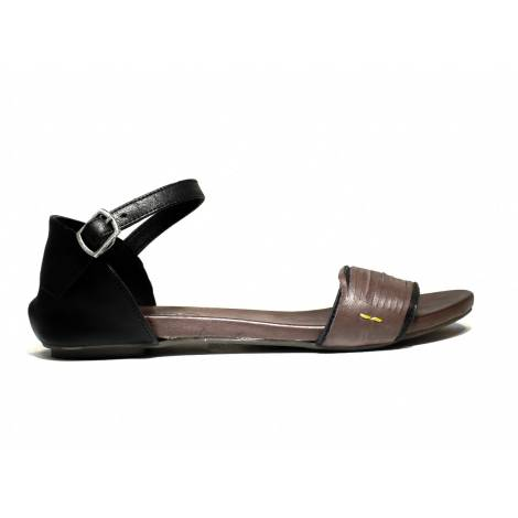 Bueno Shoes Sandalo Donna Tacco Basso MERIT A507 Emo Black
