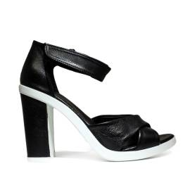 Bueno Shoes Sandals Women's High Heel VINE A117 Black