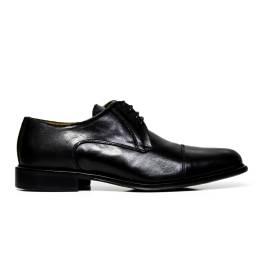 EXTON uomo scarpe eleganti stringate 8611 VITELLO NERO