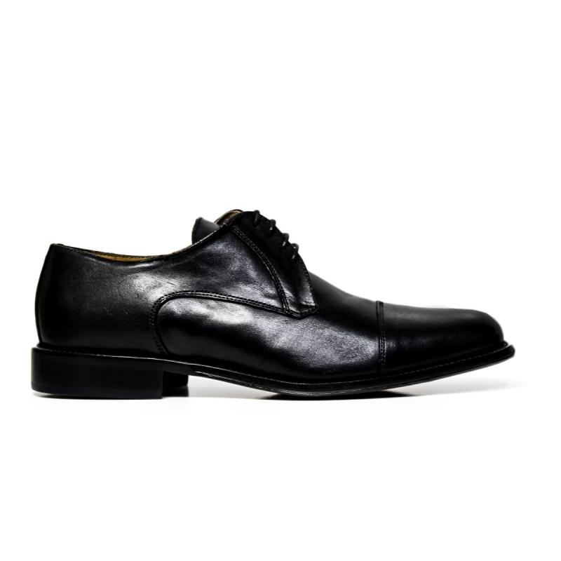 EXTON uomo scarpe eleganti stringate 8611 VITELLO NERO 3b91b72be26