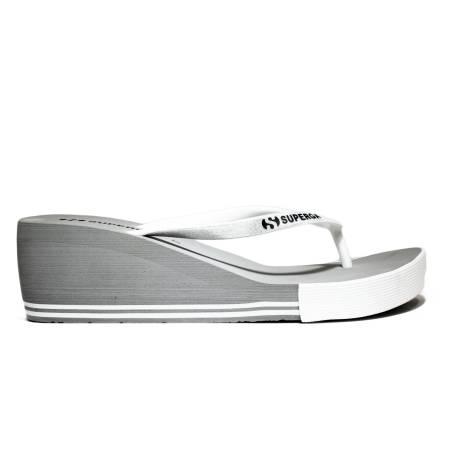 Superga Sandalo Donna Zeppa Bassa Art. S24G035 Grigio