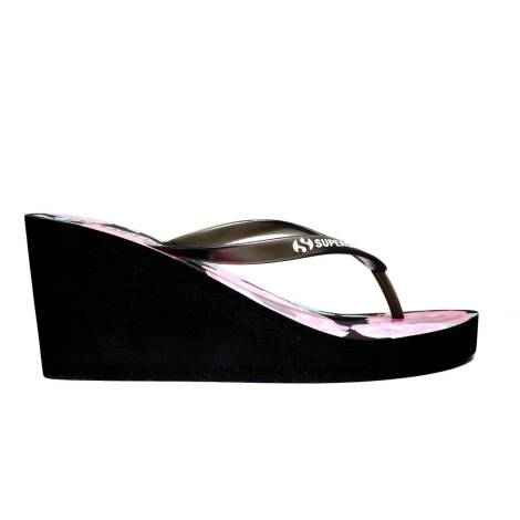 Superga Sandals Women Wedge High Art. S24R136 Black