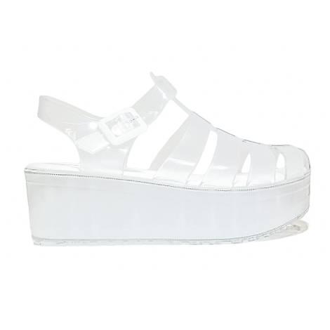 Superga Sandalo Donna Zeppa Bassa Art. S24R107 Ghiaccio