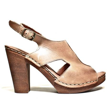 Marika Milan Women's Sandals High Heel Art. 3120823 ALFA D Leather