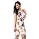 Le donne di...short wedding dress multicolor woman ART. 9049B