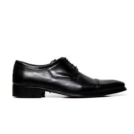 Cristiano Gualtieri uomo scarpe eleganti stringate 695 LINUX NERO