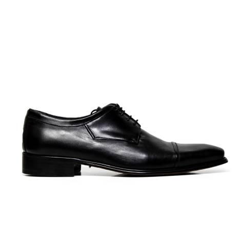 Cristiano Gualtieri lace up man shoes 695 LINUX NERO
