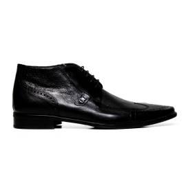 Cristiano Gualtieri uomo scarpe eleganti stringate 267 FOX NERO