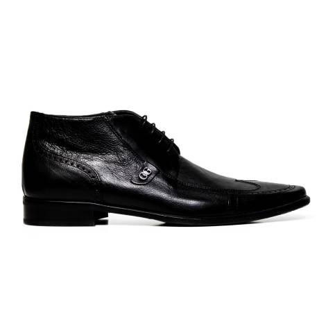 Cristiano Gualtieri lace up man shoes 267 FOX NERO