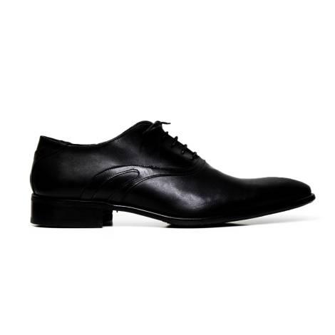 Cristiano Gualtieri uomo scarpe eleganti stringate in pelle 510 LINUX NERO