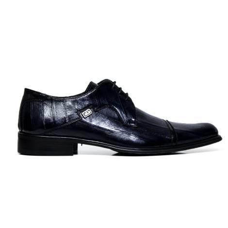 Cristiano Gualtieri lace up man shoes leather 401 ANGUILLA BLU