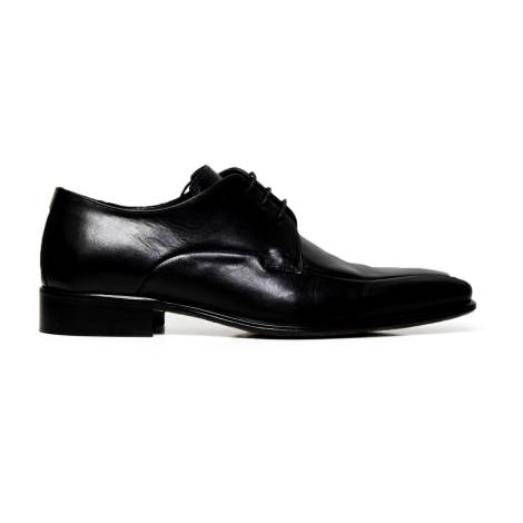 Cristiano Gualtieri lace up man shoes leather 625 LINUX NERO