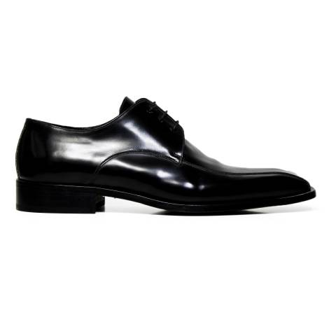 Marilungo lace up man shoes leather T3224 black