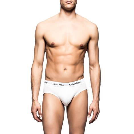 Calvin Klein Slip Uomo U2661G 100 Bianco