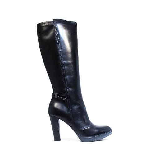 Ankle Boot Nero Giardini in leather A615953D 400