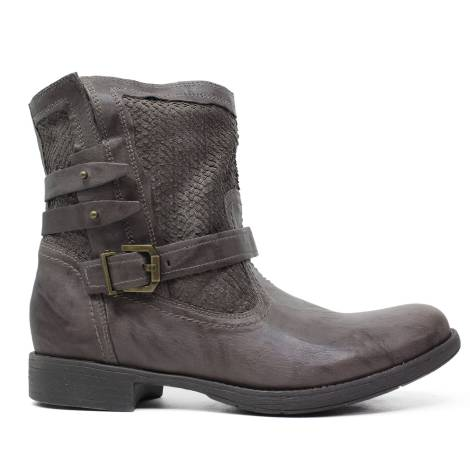 Ankle Boot Nero Giardini in leather Verdegris A616000D 500