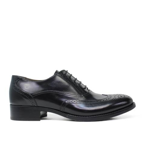 Nero Giardini Laced Shoes Woman in Leather black A616011D 100