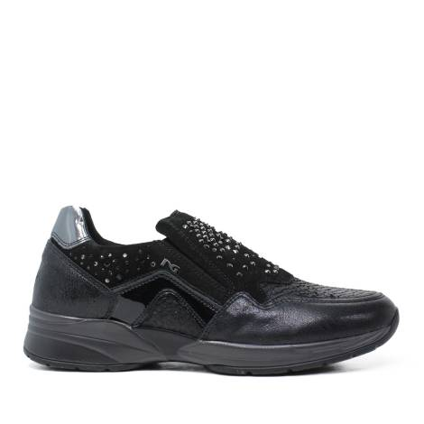 Nero Giardini Laced Shoes Woman in Leather Black A616033D 100