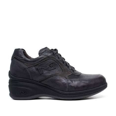 Nero Giardini Sneakers Woman in Leather A616080D 109 Plumb