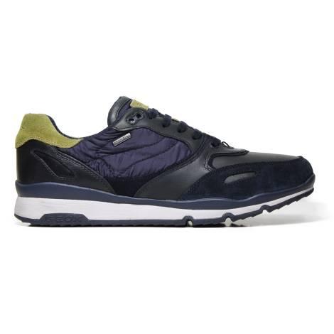 Geox Sneakers Man U44S7A 022FU CF4E3 Navy Pistachio