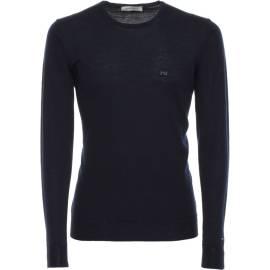 Nero Giardini Crew Neck Sweater Man A670300U 200 Blue